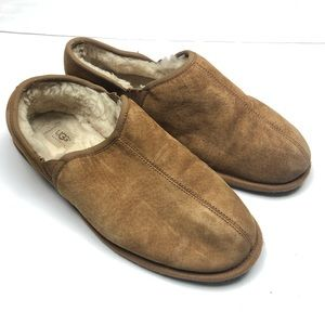 UGG Australia slippers shoes leather sheepskin